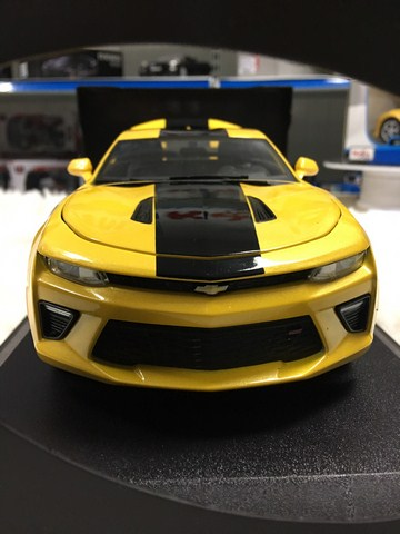 SP005483 - [Maisto] Chevrolet Camaro SS 2016 118 [Yellow]