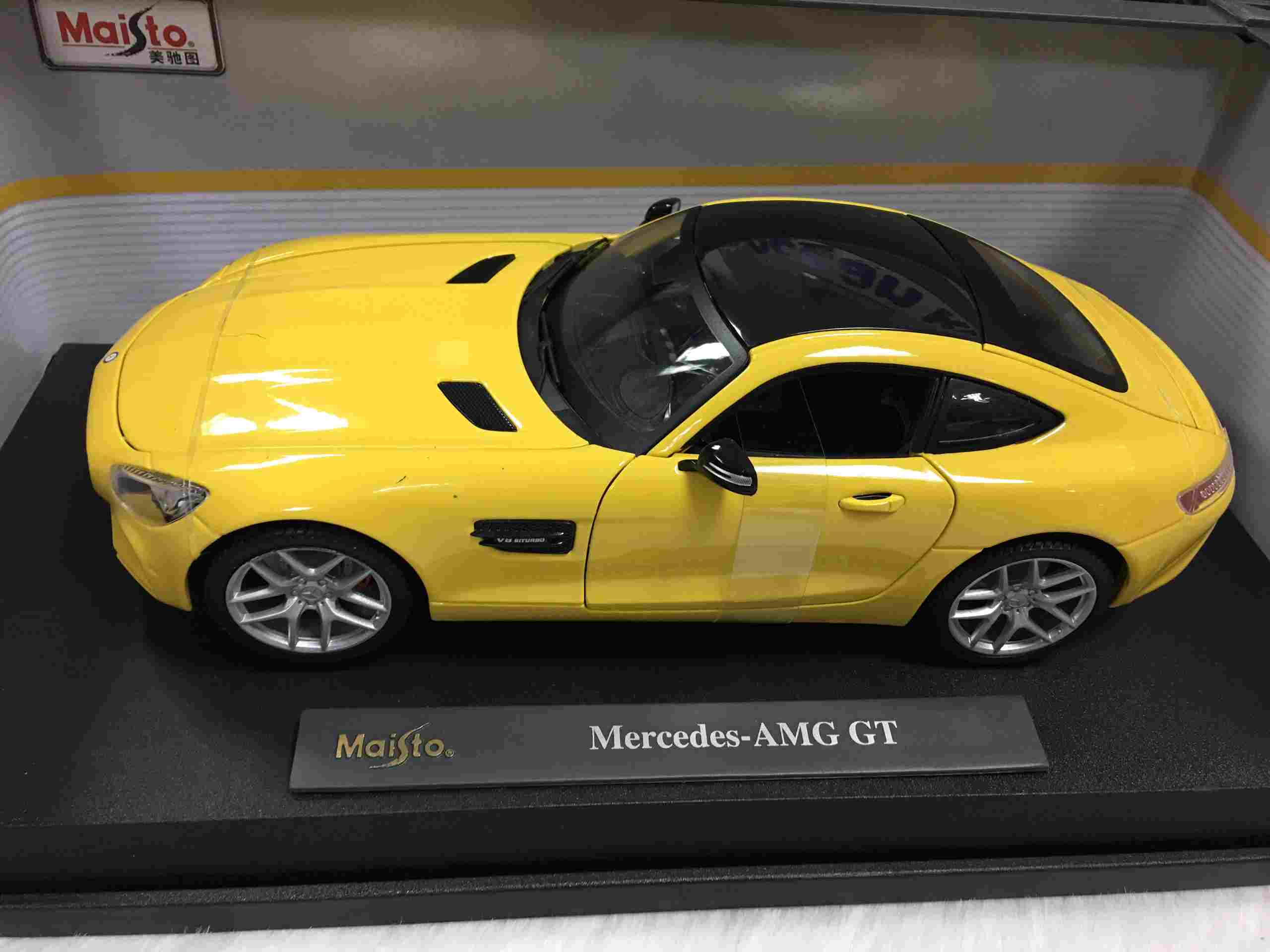 SP005481 - [Maisto] Mercedes AMG GT 118 [Yellow]