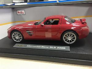 SP005084 - [ Maisto] Mercedes SLS AMG 124 [Red]
